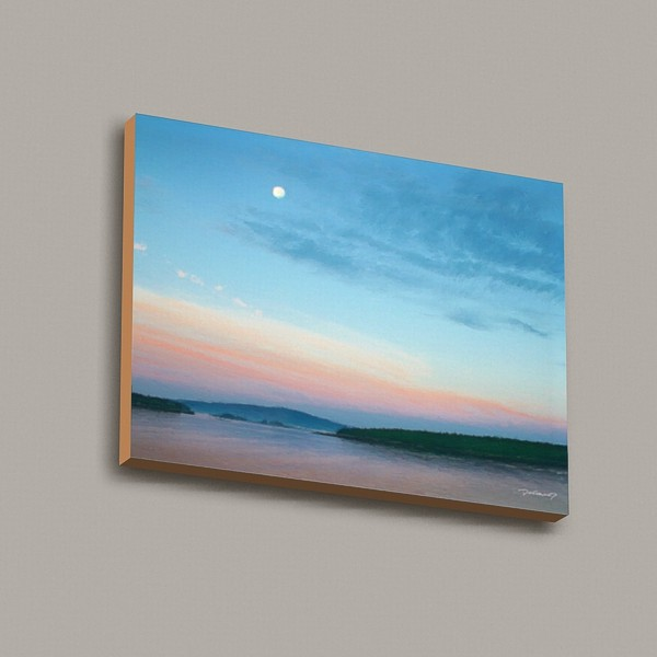 Acadia Morning Moon