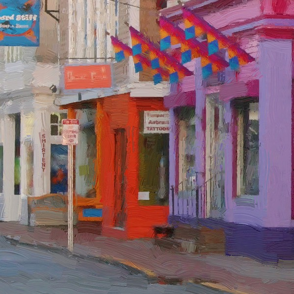 Ptown Street - detail - 600