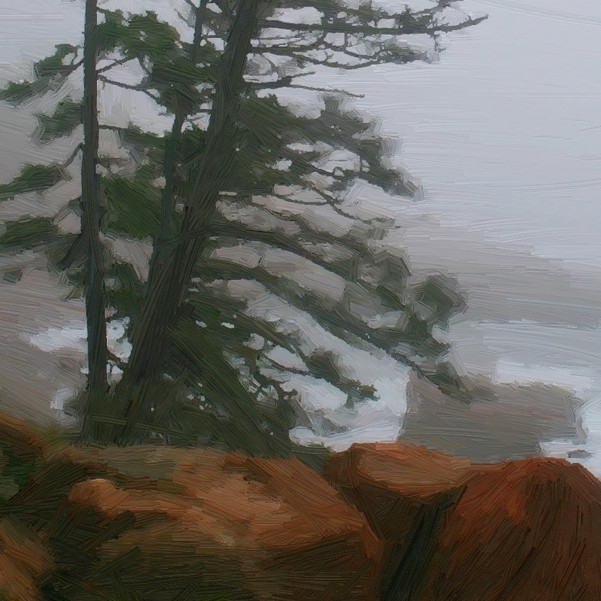 tree and ocean - detail - 600